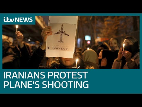 Iranians protest after