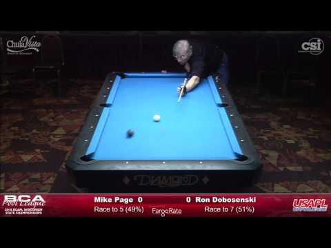Mike Page vs Ron Dobosenski (Hot Seat Match!)