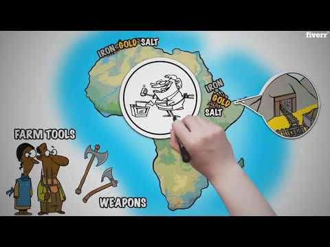 Africa Geography & Medieval Ghana, Mali, and Songhai by Instructomania