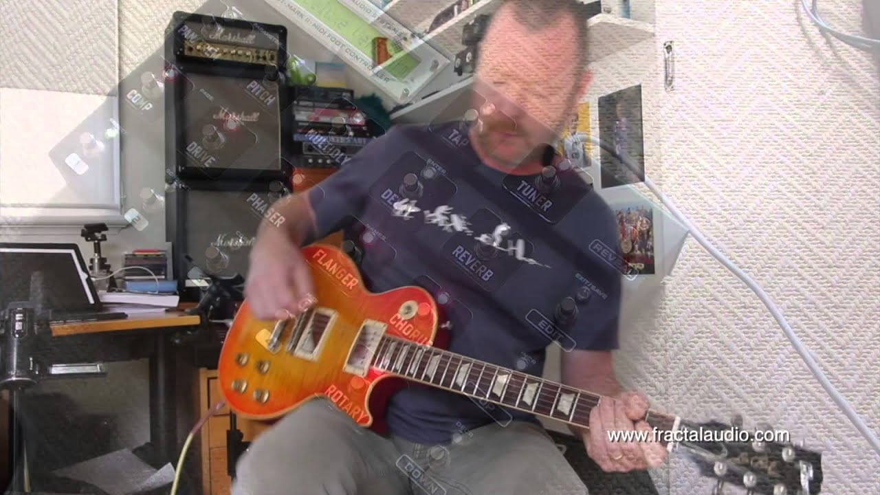 fas quantum v1 02 preview les paul w kinman paf 59 lps youtube