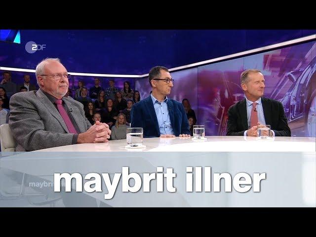 maybrit illner vom 25.10.2018: Politische Geisterfahrt - wer zahlt für den Diesel Skandal?