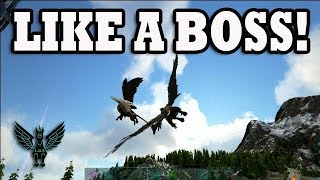 Ark PvP : Handle the griffin like a boss!