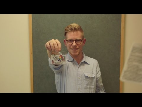 OHSU Behind the Badge: Charlie Gannon, Public Service Representative