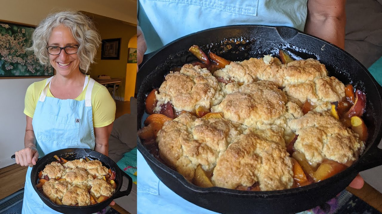 Cardamom-Scented Peach-Apricot Cobblers   Everyday Food w/Sarah Carey