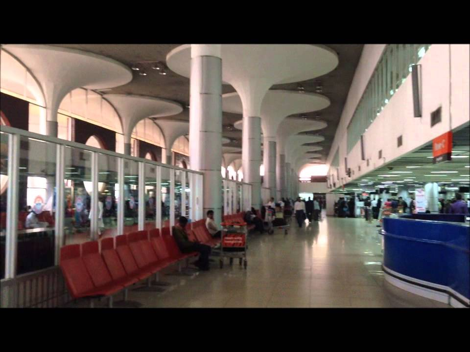 Shahjalal International Airport In Bangladesh Youtube
