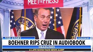 John Boehner Tries Narrating Audiobooks
