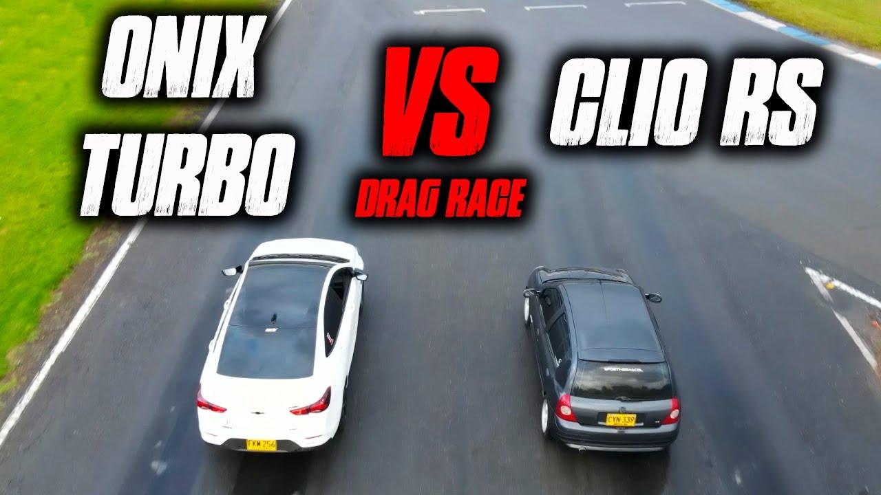 La MEJOR!! ONIX TURBO VS CLIO RS