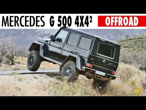 Mercedes G-Class (2015) OFF ROAD Test Drive