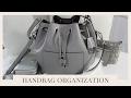 HANDBAG ORGANIZATION | My Winter Handbag PLUS How I Change & Clean My Handbags