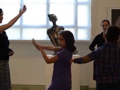 Movement art education at the Hall of Art Budapest