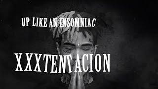 XXXTENTACION - UP LIKE AN INSOMNIAC (Lyrics / Lyric Video) Prod. xxxtentacion & RONNY J