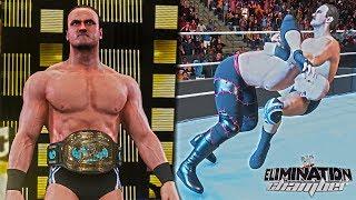 "WWE 2K19: Drew McIntyre ""The Chosen One"" ft. Elimination Chamber 2010 Win vs Kane (IC Championship)"