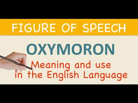 Learn English Oxymoron Meaning Use In The English Language