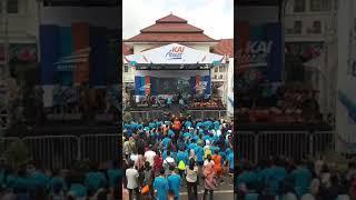 Konser Maliq D Essentials Kai Rail Run Malang 2