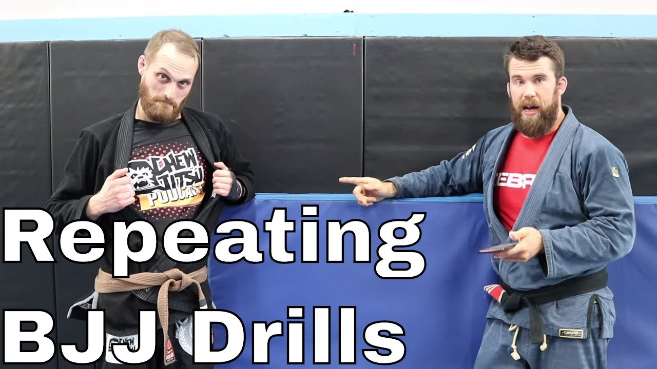Non-Boring Method to Effectively Drill BJJ Techniques