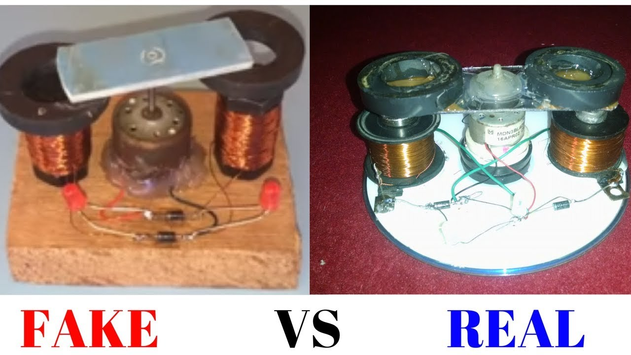 1597d36134a free energy generator( 100% FAKE VS REAL)self Running 2017 - YouTube