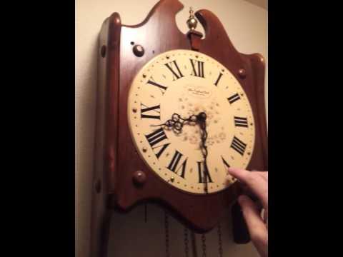 New England Clock Co Clock Youtube