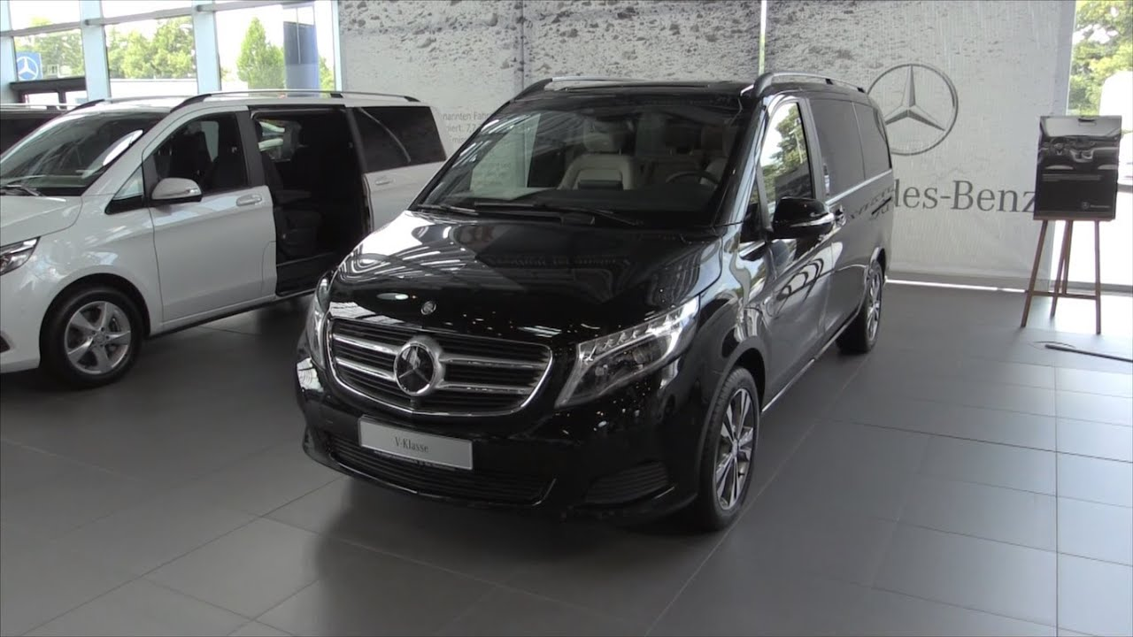 Mercedes benz v class 2016 in depth review interior for Mercedes vito interieur