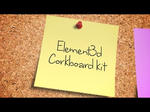 Corkboard | After Effects template - YouTube