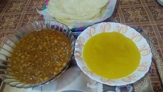 Puri Channay ki recipe by Aisha   Fry Loaf   Special Channay