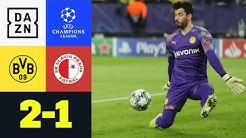 Sensationeller Bürki rettet Achtelfinale: Dortmund - Slavia Prag 2:1 | UEFA Champions League | DAZN