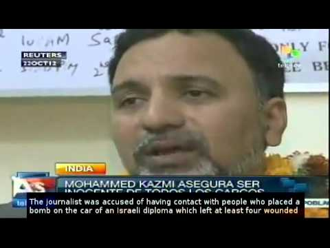 Indian journalist accused in israeli bombing gets bail