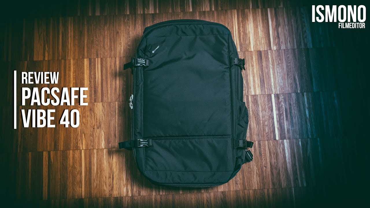7d9dafe39749 The safest Carry-On Backpack  REVIEW Pacsafe Vibe 40 - YouTube