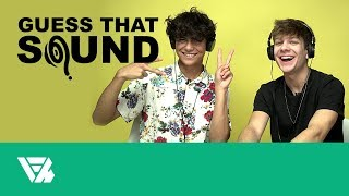 Nathan Triska and Ben of the Week Guess That Sound