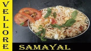 How to cook Tomato rice receipe easily in Tamil/ thakkali satham