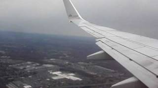 Landing at Bradley International Airport Hartford Connecticut