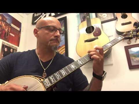 Armando Zuppa Plays Brilliancy on Banjo at Penny Lane Emporium