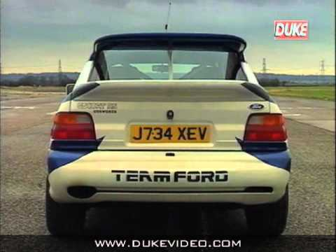 Duke DVD Archive - Story of the Escort Cosworth