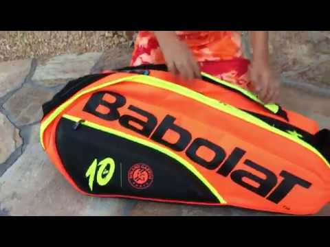 Babolat Pure La Decima French Open 12 Pack Tennis Bag Review