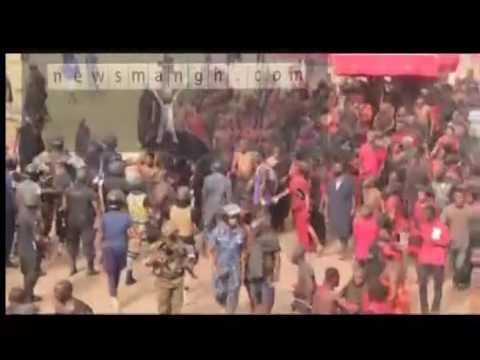 EXCLUSIVE: Deadly Scenes At Chief Installment At Kumawu In Ashanti Region
