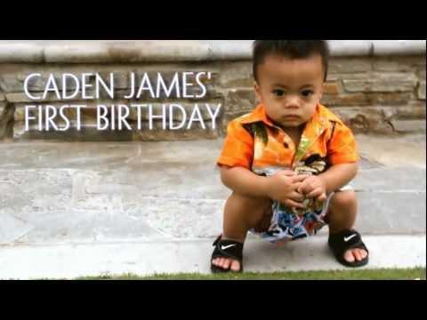 Caden's 1st Birthday Slideshow