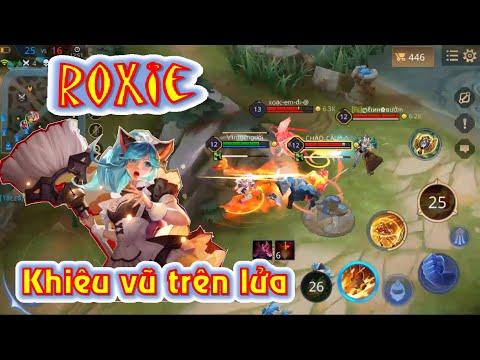 Liên quân mobile Funny - Roxie - Hầu gái không dễ dãi