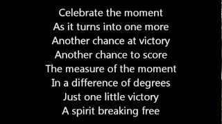 Rush-One Little Victory (Lyrics)