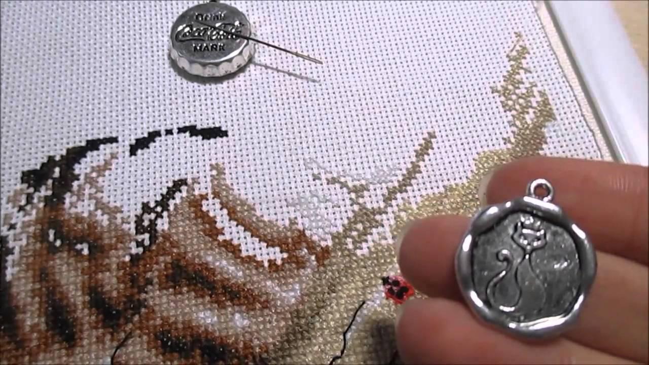 Магнитный держатель для схем вышивки