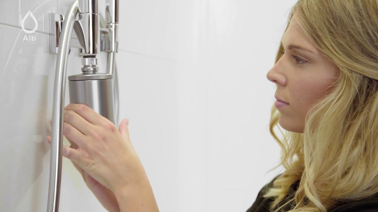 Mehrstufiger Duschfilter Antiscaling Wasserfilter Dusche gegen Chlor und Kalk