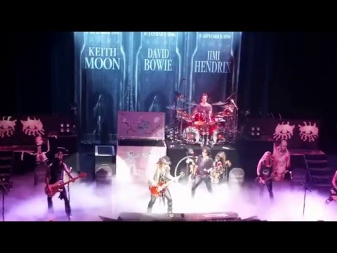 Alice Cooper - Tribute To Keith Moon, Jimi Hendrix, David Bowie - May 12, 2016
