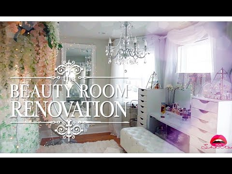 HOME MAKEOVER - Building my vanity room