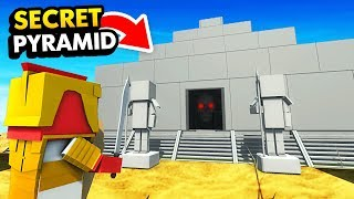 Battling The PHARAOH BOSS In SECRET PYRAMID (Funny Ancient Warfare 3 Gameplay)