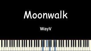 WayV(威神V) - Moonwalk(天选之城)(Piano Cover)(피아노 커버)