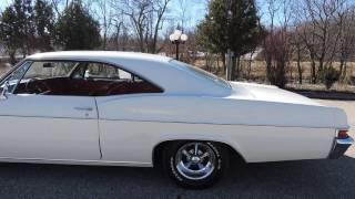 1966 Chevy Impala Super Sport white for sale at www coyoteclassics com