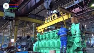 Awesome technology | Diesel Train | Locomotive engine production | How Diesel Locomotives Work ?