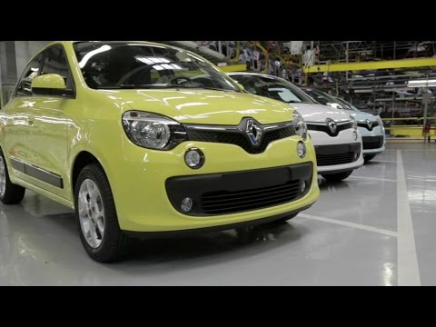 Renault Twingo production at Novo Mesto plant, Slovenia