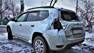 Рено Дастер Nissan Terrano ремонт кузова Auto body repair.