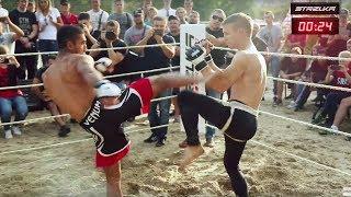 ТАЙСКИЙ БОКСЕР против Бойца ММА !!! Хороший бой !!!