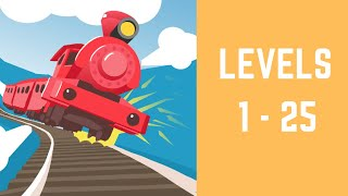 Off the Rails 3D Game Walkthrough Level 1-25