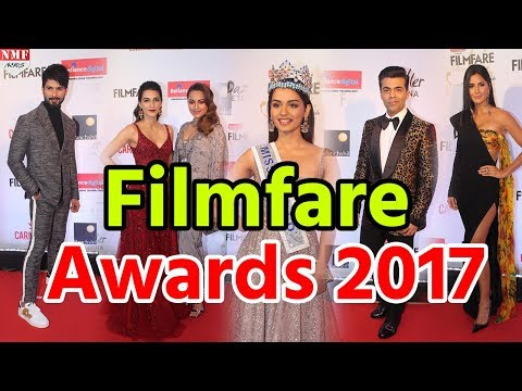 Filmfare Glamour and Style Awards 2017 Red Carpet| Katrina, Hrithik